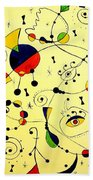 Abstraction 754 - Marucii Beach Towel