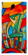 Abstraction 756 - Marucii Beach Towel