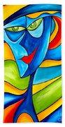 Abstraction 757 - Marucii Beach Towel