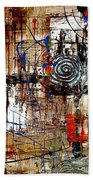 Abstraction 758 - Marucii Beach Towel