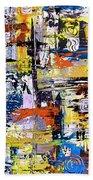 Abstraction 759 - Marucii Beach Towel