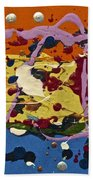 Abstracts 14 - The Circus Beach Towel