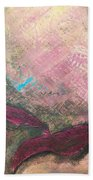 Abstracty Crows Feet Crop Beach Towel