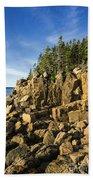 Acadia Seascape Beach Towel