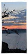 Acadia Sunrise 2 Beach Towel