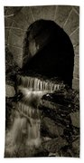 Acadia Waterfall Beach Towel