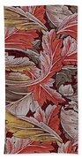 Acanthus Leaf Beach Towel