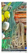 Accessories To Shrimp Catching Beach Towel