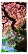 Acer Abstract Beach Towel