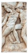 Achilles And Penthesilea Beach Towel