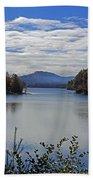 Across The Lake Beach Towel