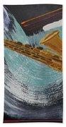 Acrylic Msc 036  Beach Towel