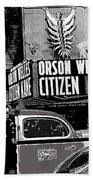 Actor Co-writer Director Orson Welles Premier  Citizen Kane Palace Theater New York  May 1 1941-2014 Beach Towel