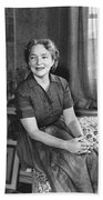 Actress Helen Hayes Beach Towel