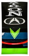 Acura Patron Car Hood Beach Towel