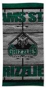 Adams State Grizzlies Beach Towel