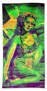 Adele Mara - 1940s Pin Up Beach Towel
