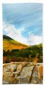 Adirondack Autumn Beach Towel