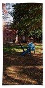 Adirondack Chairs 2 - Davidson College Beach Towel