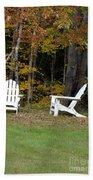 Adirondack Foliage Beach Towel