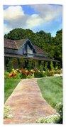 Adobe Alamo Pintado Rideau Vineyards Beach Towel