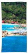 Adrenaline Beach - Cezanne II Beach Towel