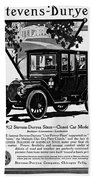 Ads Automobile, 1912 Beach Towel