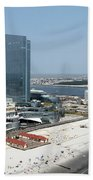 Aerial Of Revel On The Oceanfront Beach Towel