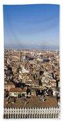 Aerial View Of Venice Beach Towel