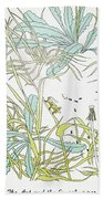 Aesop: Ant & Grasshopper Beach Towel