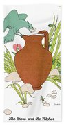 Aesop: Crow & Pitcher Beach Towel