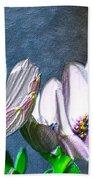 African Daisy Detail Beach Towel