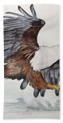 African Fish Eagle Beach Towel