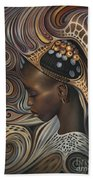 African Spirits II Beach Towel
