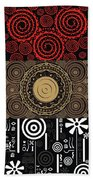 Afroecletic II Beach Towel