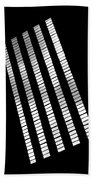 After Rodchenko 2 Beach Towel by Rona Black