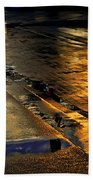 After The Rain Beach Towel by Laura Fasulo