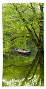 After The Rain On The Valley River Beach Towel
