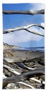After The Storm Gaviota Beach Towel