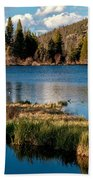 Afternoon At Sprague Lake Beach Towel