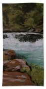 Afternoon At The Narrows Beach Towel