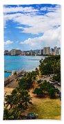 Afternoon On Waikiki Beach Towel