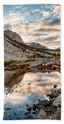 Afternoon Reflections Beach Towel by Cat Connor