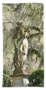 Afton Plantation Villa Statuary Beach Towel