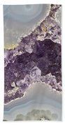 Agate And Amethyst 02 Beach Towel