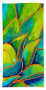 Agave Glow Beach Towel
