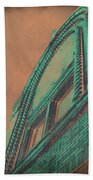 Aged Copper Theater Beach Towel