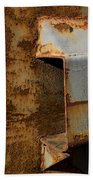 Aging With Rust Beach Towel