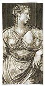 Agrippina Wife Of Tiberius Beach Towel