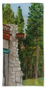Ahwahnee Woods Beach Towel